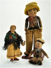 "Original 16""/41cm Norah Wellings Cloth Doll made in"