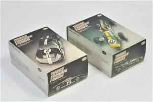 """Testors Plastic Model Kit duo comprising 1/25 """"Indy"""""""
