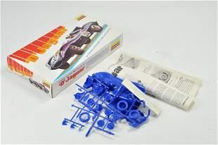 "Lindberg Plastic Model Kit comprising 1/2"" scale D Type"