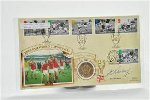 England World Cup Winners 1966 to 1996 First Day Cover