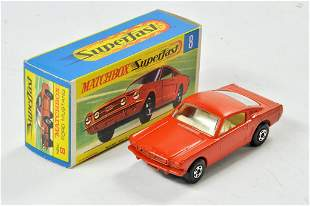 Matchbox Superfast no. 8A Ford Mustang, with burnt