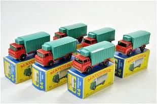 Matchbox Regular Wheels x 6 no. 44C Refrigerator Truck.