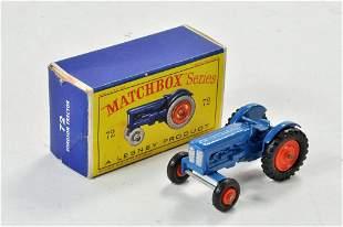 Matchbox Regular Wheels no. 72A Fordson Tractor.