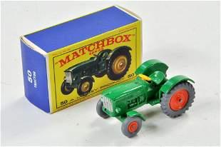 Matchbox Regular Wheels no. 50B John Deere Tractor. (