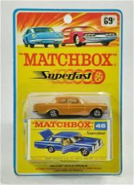 Matchbox Superfast No. 46A Mercedes 300SE Coupe, Gold
