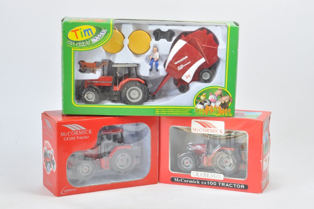 Farm Toy Selection including Tim Toy 1/32 Massey
