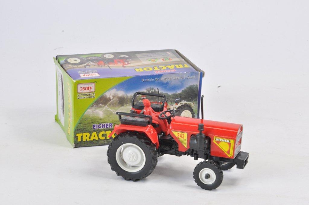 Rare Centy Toys (India) 1/25 Scale Eicher 242 Tractor.
