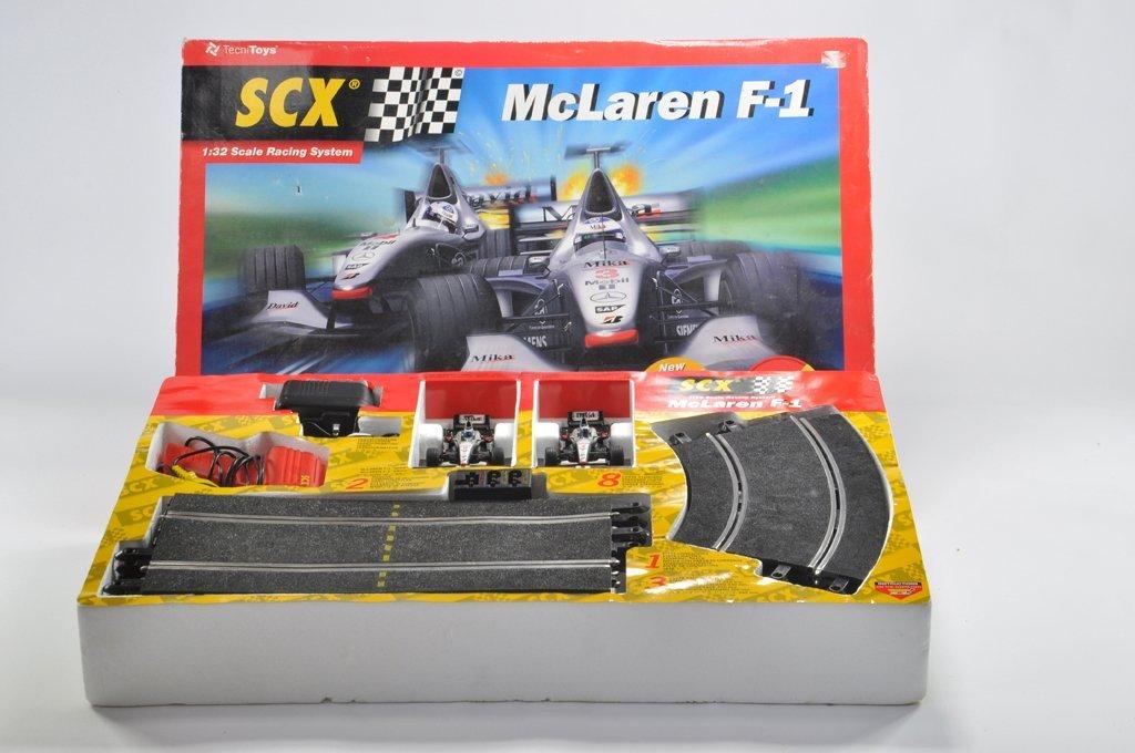 Tecni Toys SCX Mclaren F1 Motor Racing Set. Comprising
