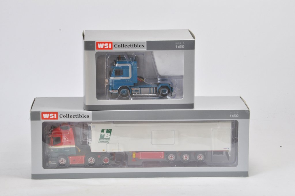 Duo of WSI 1/50 Scale Diecast Truck Models. Polskamp