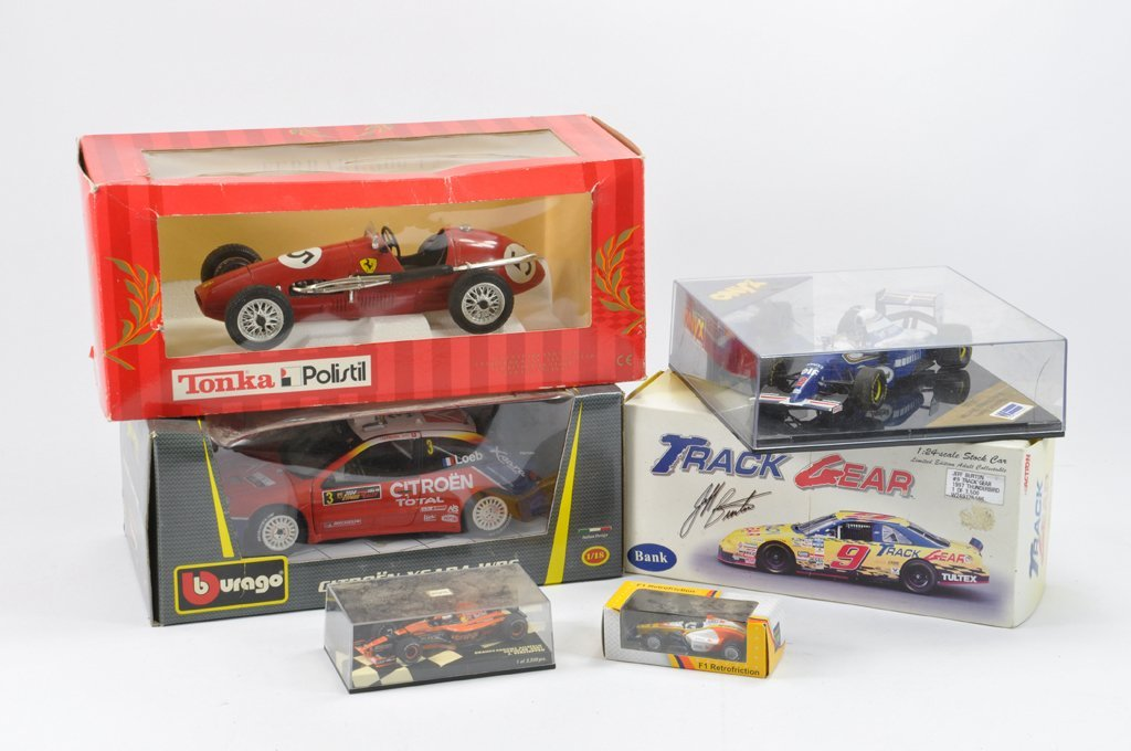 Boxed Racing Car group to include Tonka Polistil