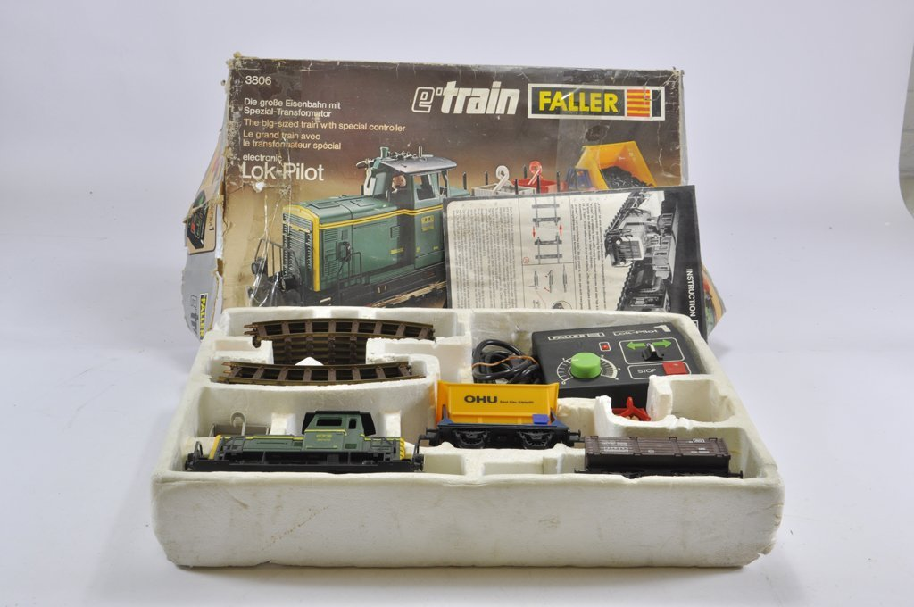 A Faller E-Train Large Scale Train Set  No  3806