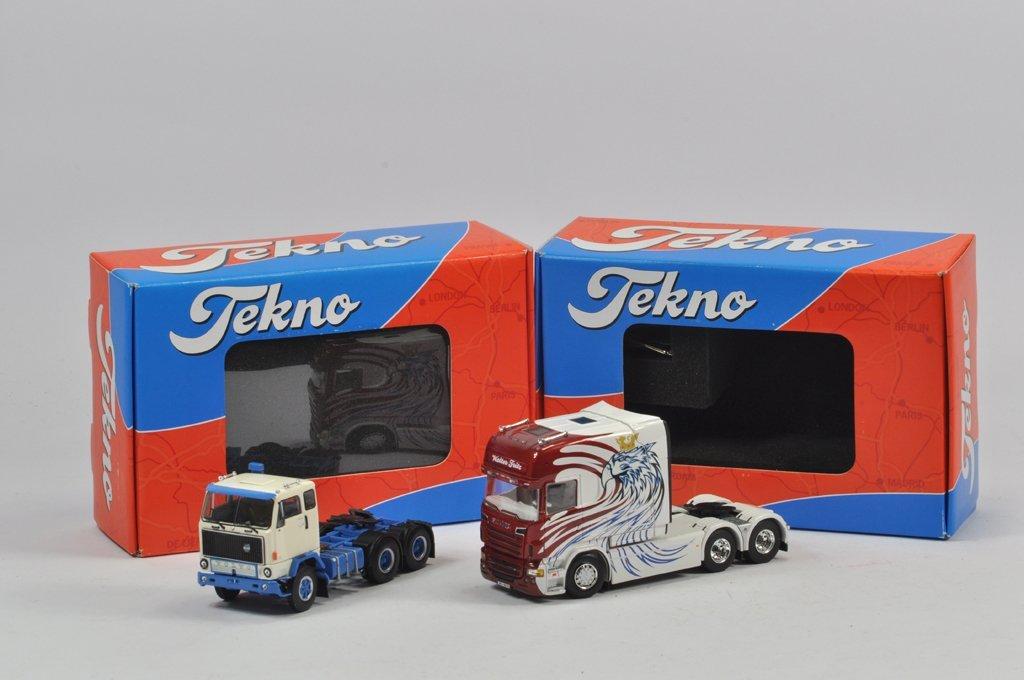 Scarce Tekno Walter Fritz Scania Longline 6x4 Unit plus