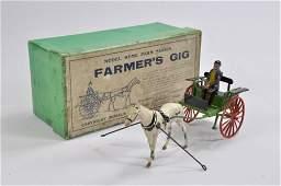 Britains Farm Series Set 20F Farmers Gig Pre War