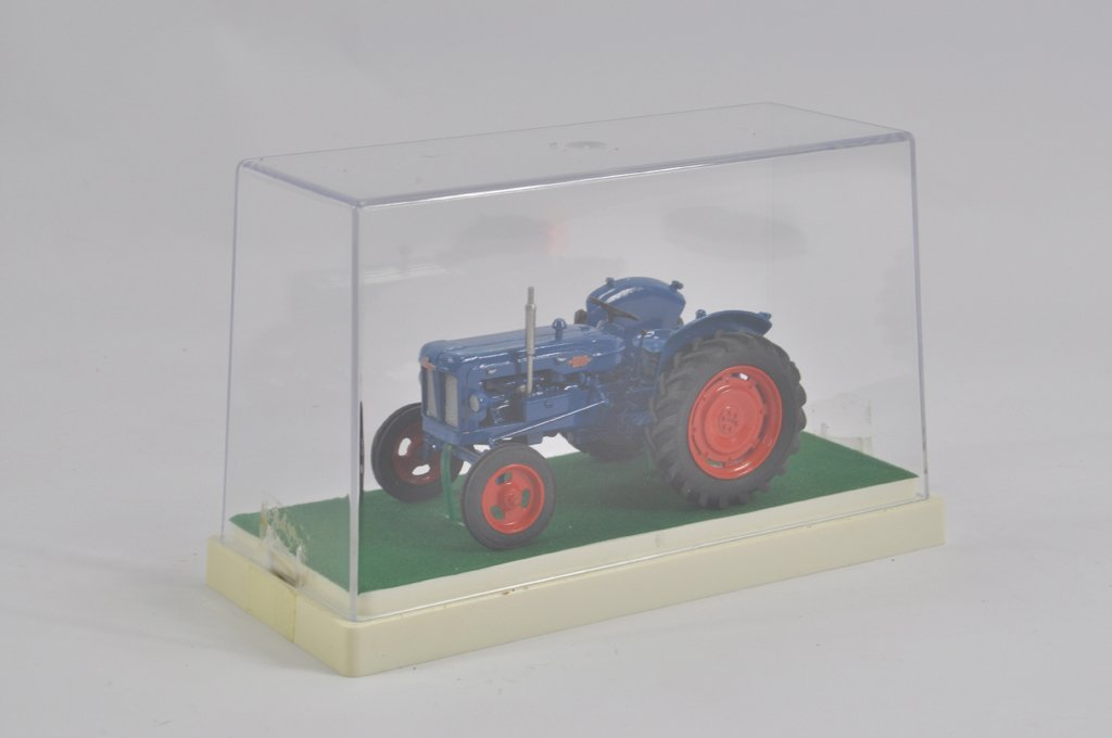 Finely built model in 1/32 scale of a 1953 Fordson