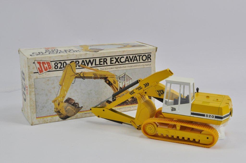 NZG No. 286 1/50 scale JCB 820 Crawler Excavator. E to