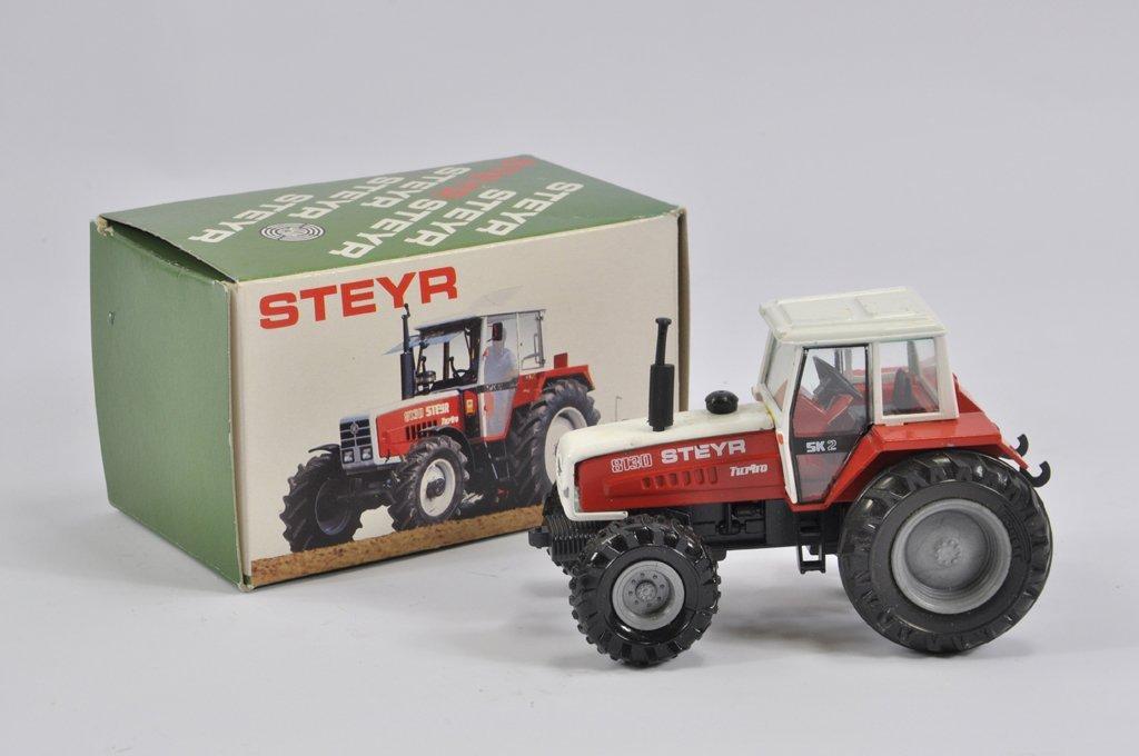 Conrad 1/43 scale No. 5018 Steyr 8130 Turbo Tractor. VG