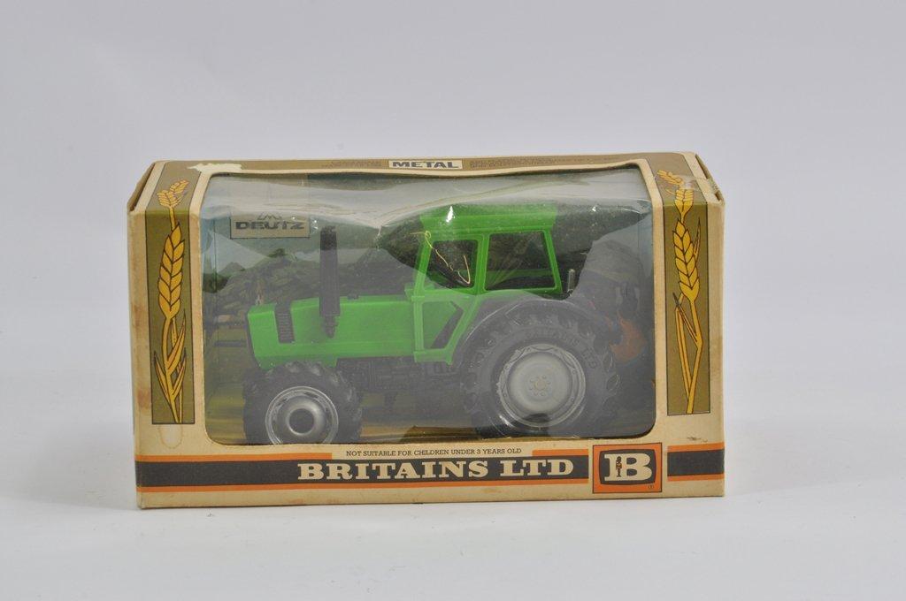 Britains 1/32 Deutz DX110 Tractor. VG to E in G to VG