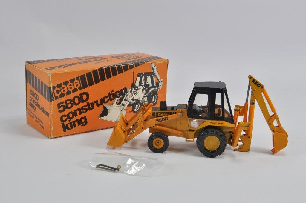 Conrad 1/35 Case Construction King 580D Backhoe Loader.