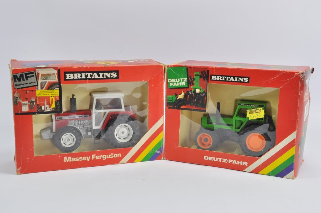 Britains 1/32 Massey Ferguson 2680 Tractor and Deutz
