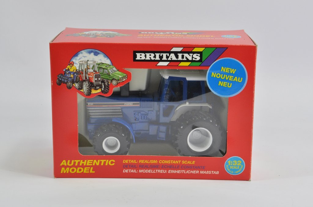 Britains 1/32 Ford 8730 Tractor with Flotation Tyres. M