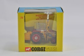Corgi No. 73 Massey Ferguson 165 Tractor With Cutter.