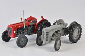 Massey Ferguson 35x And Ferguson Te20 Tractor Models In