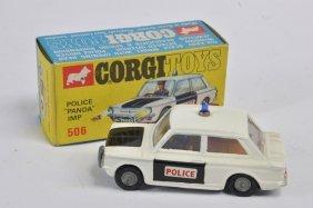 Corgi No. 506 Sunbeam Imp Police Panda Car. Generally E