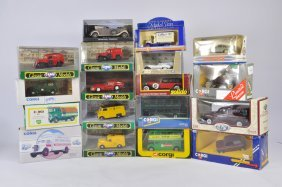 Group Of Mainly Corgi Classics But To Include Dinky And