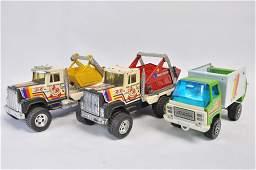 Large Scale Tonka Type Skip Truck Duo plus Refuse