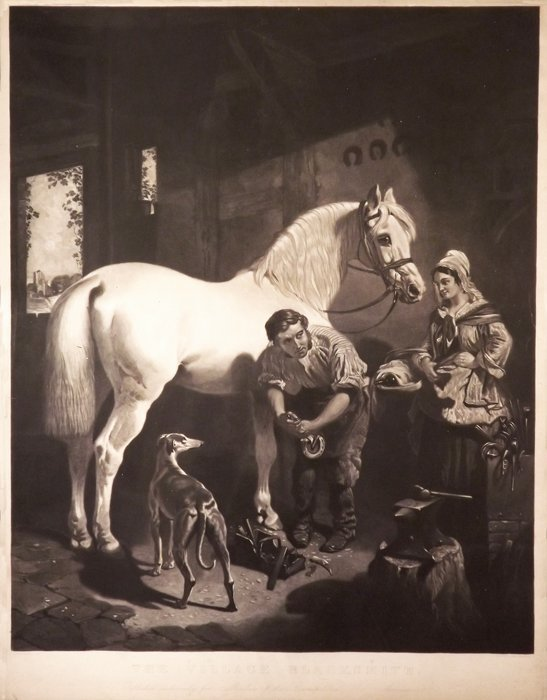 """""""The Village Blacksmith""""  by  George Patterson"""