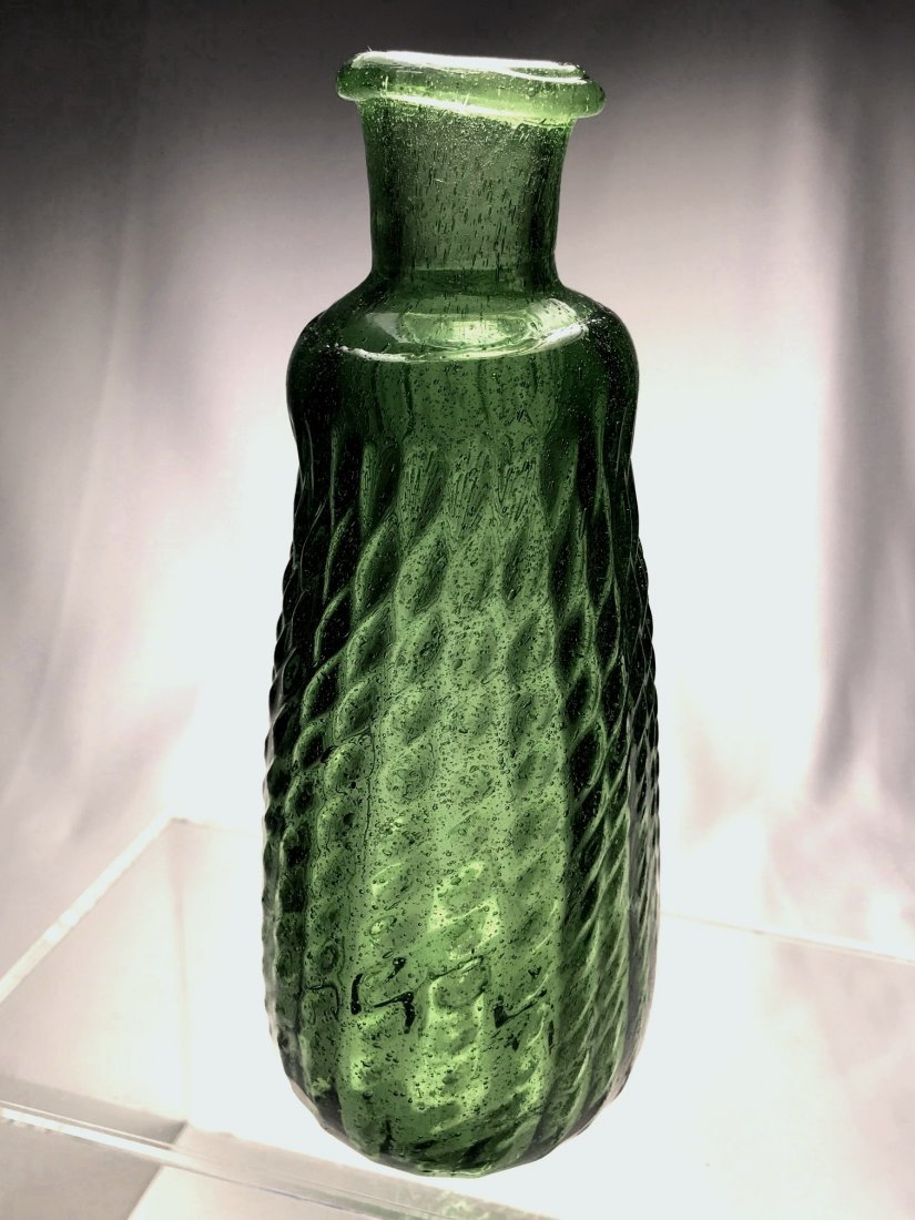 UNIQUE SCROLL SHAPED PITKIN BOTTLE - 7