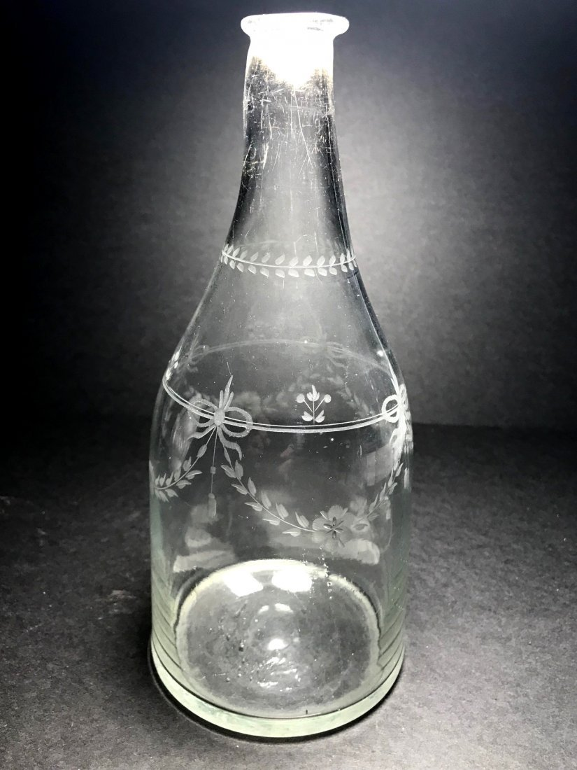 18TH CENTURY CONICAL BOTTLE LOT - 7