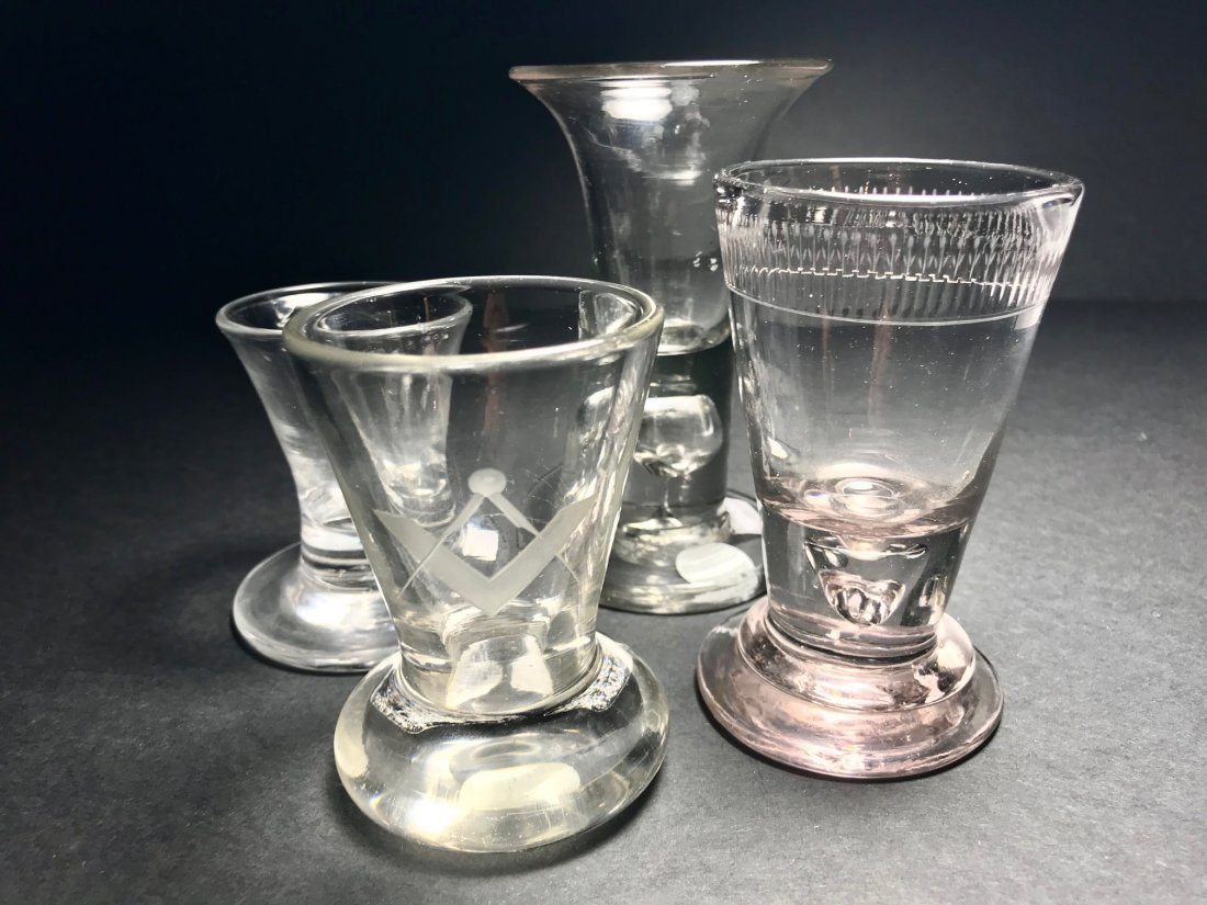 FIRING GLASS LOT: RARE PINK AMETHYST EX.