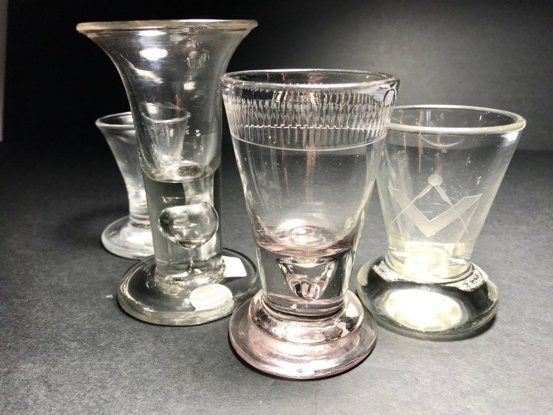 FIRING GLASS LOT: RARE PINK AMETHYST EX. - 2