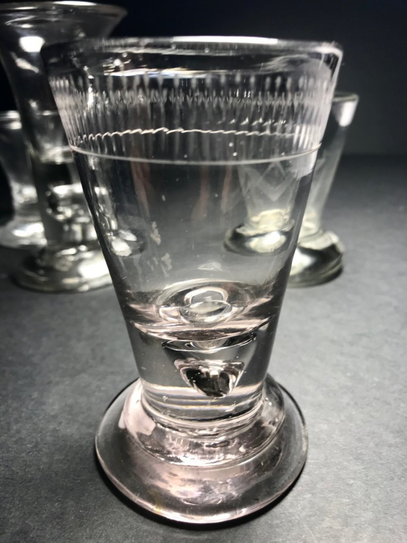 FIRING GLASS LOT: RARE PINK AMETHYST EX. - 3