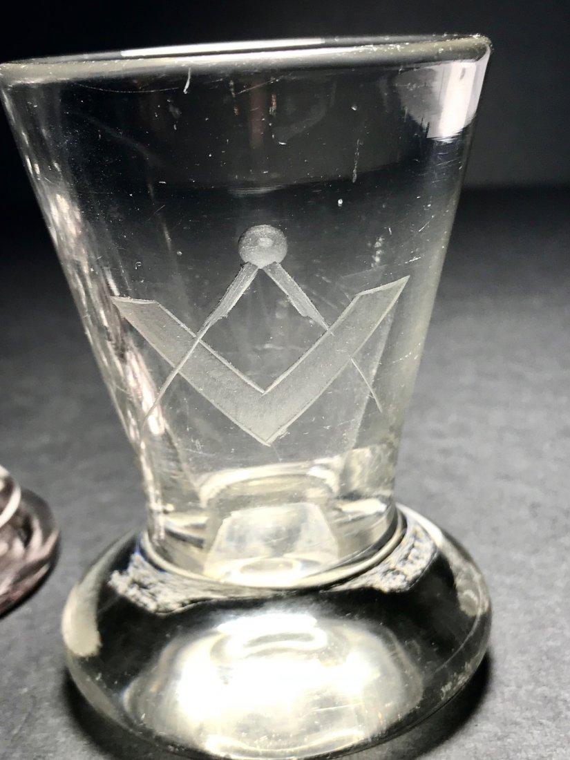 FIRING GLASS LOT: RARE PINK AMETHYST EX. - 4