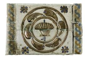 Frieze of wall tiles. VALENCIA (Manises or Gandia);