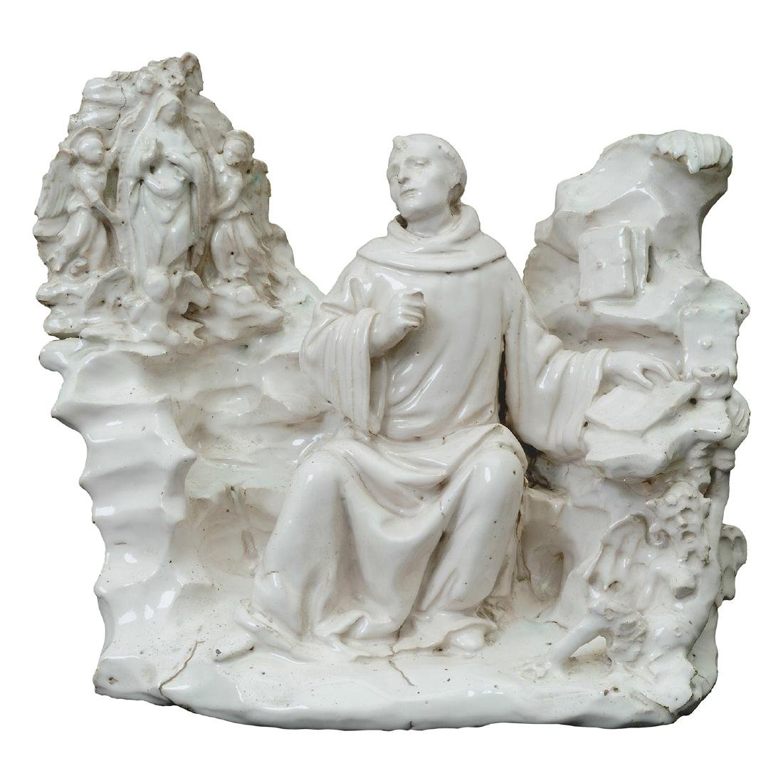 Vision of St. Bernard  ANDREA CONTUCCI, known as