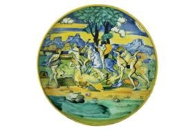 Cup FAIENCE, Artist from the atelier of Baldassarre