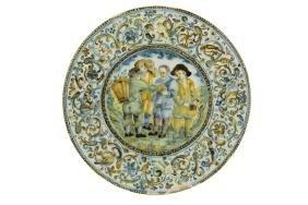Plate CASTELLI, Carlo Antonio Grue, 1673-1675.