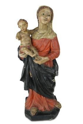 Virgin and Child BOLOGNA or CENTO, sculptor Cesare