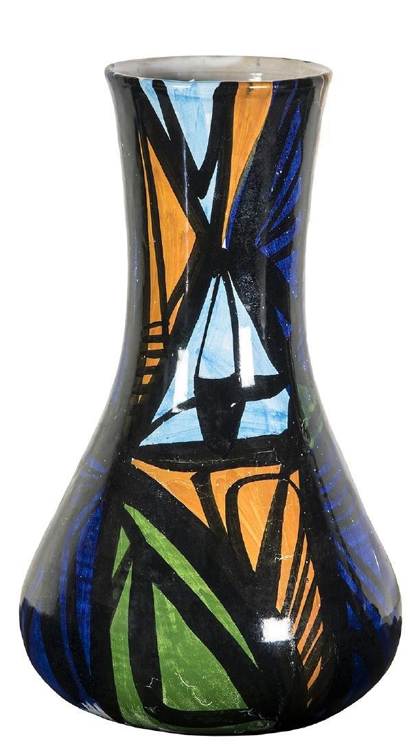 WLADIMIRO TULLI - Vase with abstract decoration, 1963