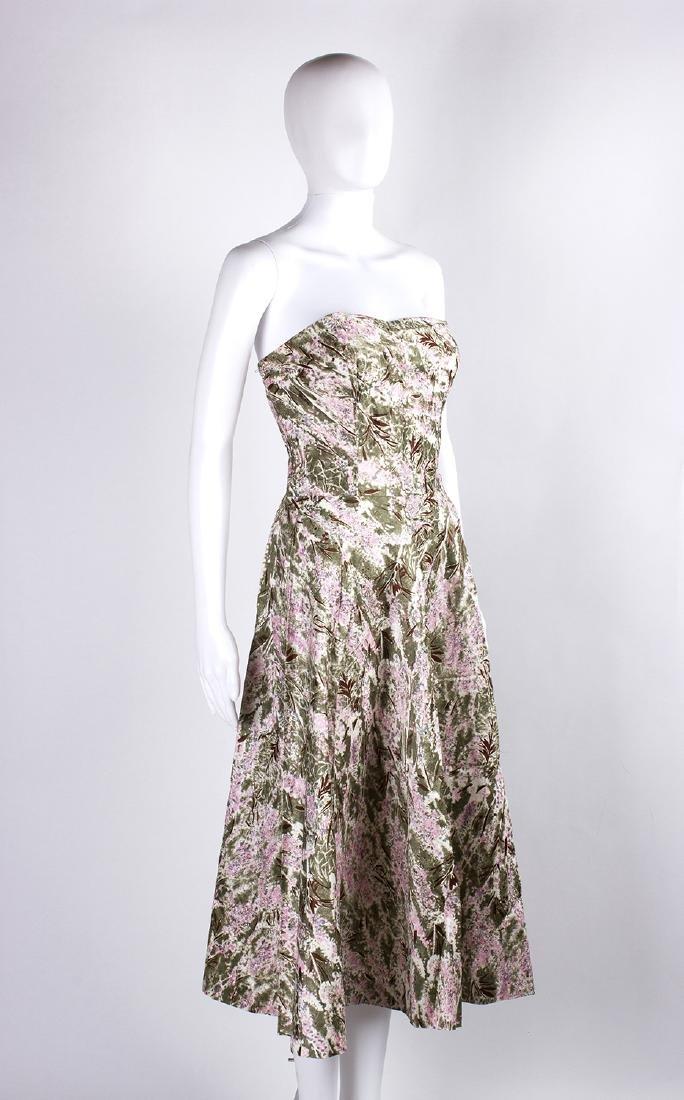 VINTAGE 1950's COCKTAIL DRESS - 2