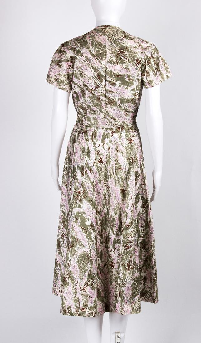 VINTAGE 1950's COCKTAIL DRESS - 4