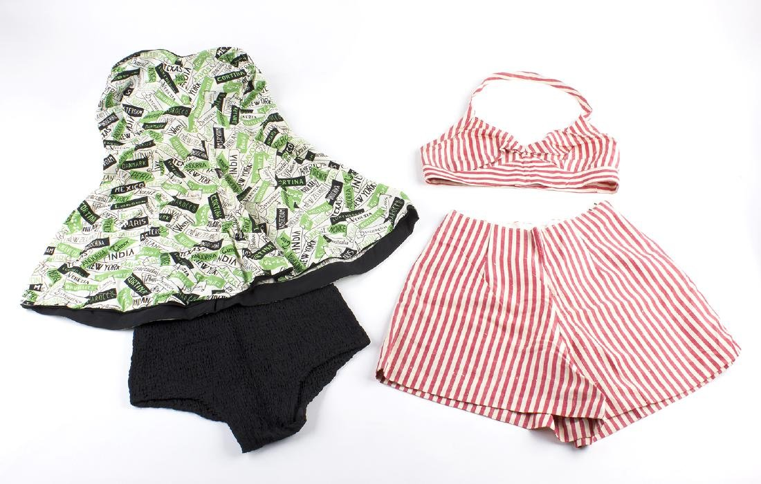 LOT OF VINTAGE LADIES SWIMSUITS