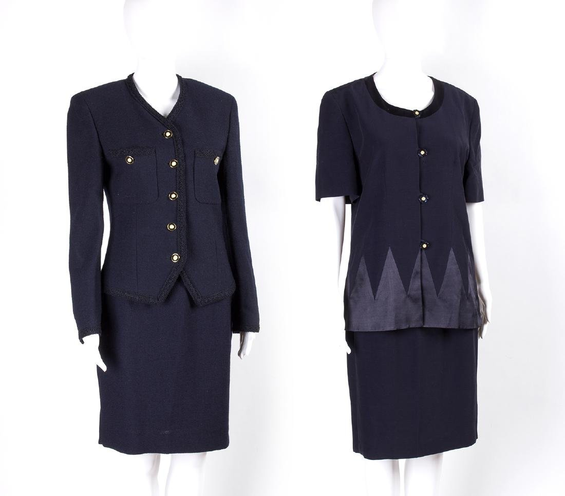 LOT OF VINTAGE SKIRT SUITS