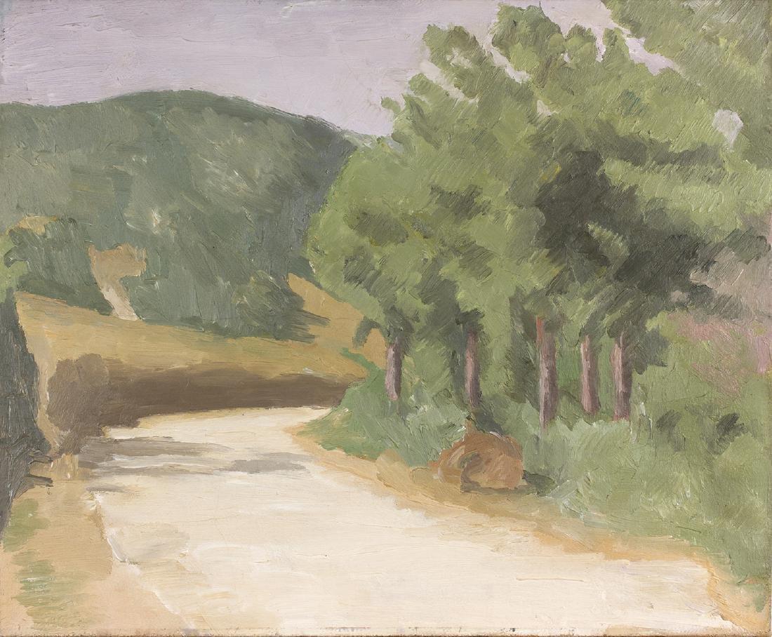 GIORGIO MORANDI - Landscape, 1929 circa