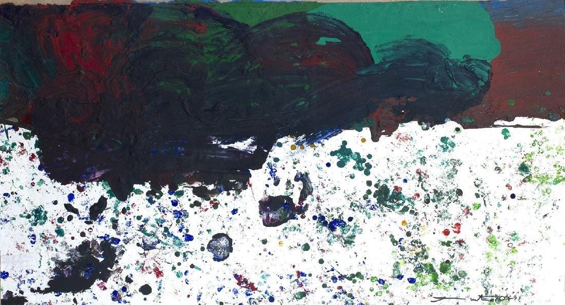 HERMANN NITSCH - Untitled, 2007