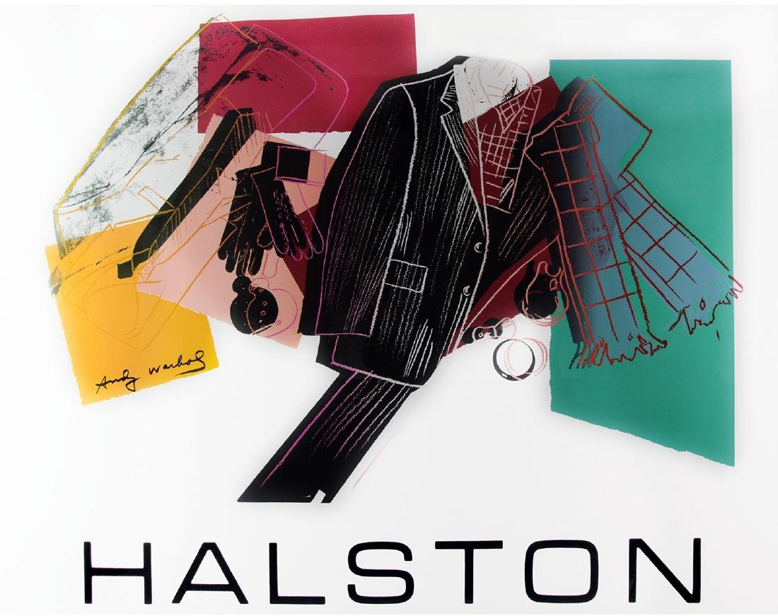 ANDY WARHOL  - Halston Advertising Campaign - Men's