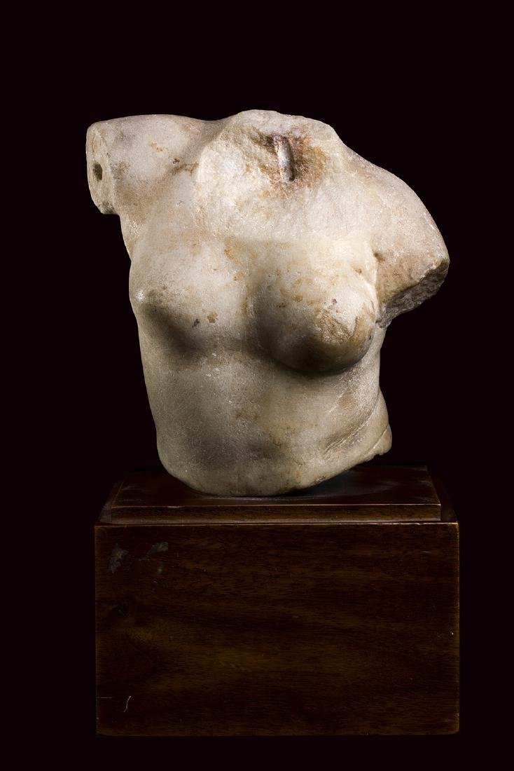 TORSO DELLA VENERE ESQUILINA I secolo a.C. – I secolo